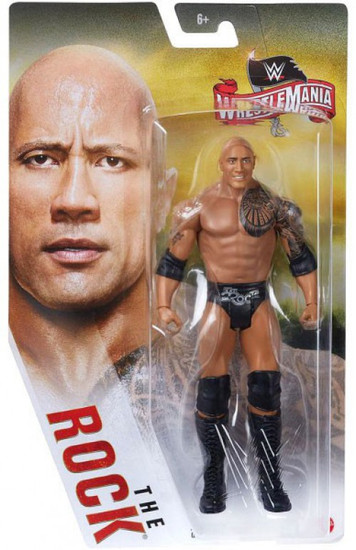 WWE Wrestling WrestleMania 36 The Rock Action Figure