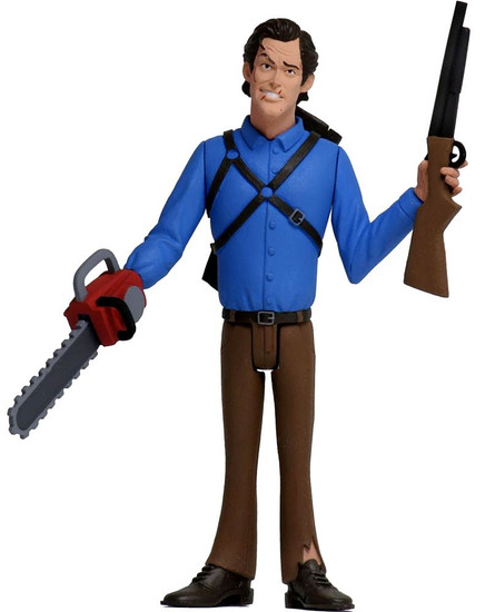 NECA Horror Toony Terrors Series 3 Ash Williams Action Figure