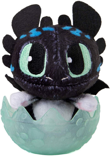 How to Train Your Dragon The Hidden World Baby Night Light 3-Inch Egg Plush [Green]