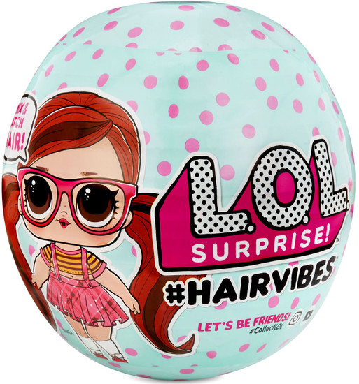 LOL Surprise Winter Disco #Hairvibes Mystery Pack