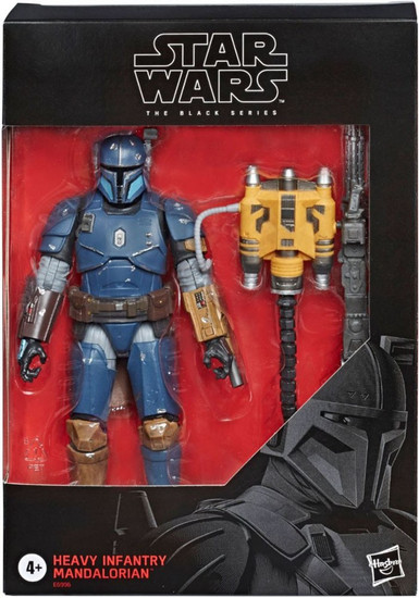 Star Wars The Mandalorian Black Series Heavy Infantry Mandalorian Exclusive Action Figure [Paz Vizla]