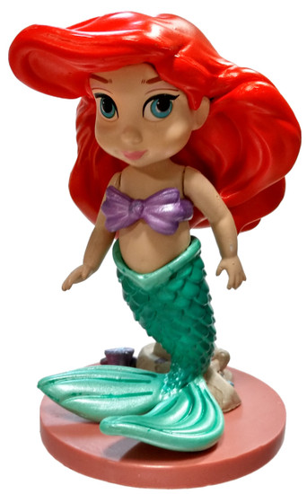 Disney The Little Mermaid Animators' Collection Ariel 3-Inch PVC Figure [Toddler Loose]