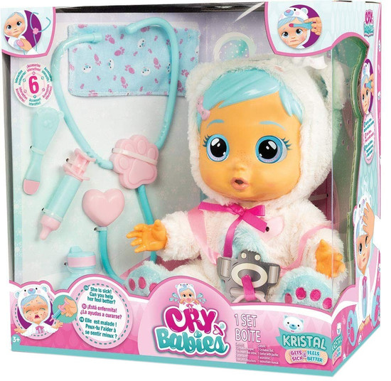 Cry Babies Kristal Deluxe Doll