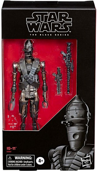 Star Wars The Mandalorian Black Series IG-11 Exclusive Action Figure (Pre-Order ships May)