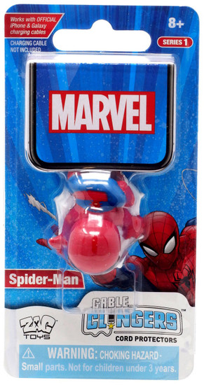 Marvel Cable Clingers Spider-Man Cord Protector