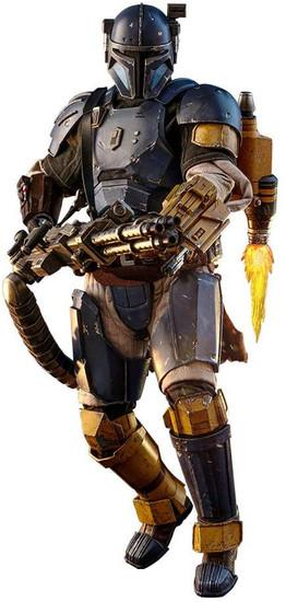 Star Wars The Mandalorian Heavy Infantry Mandalorian Collectible Figure [Paz Vizla]