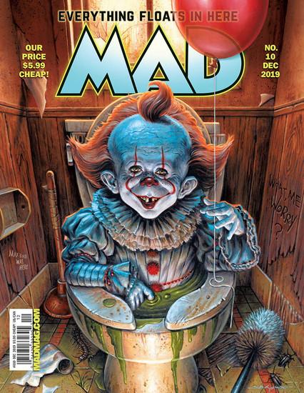 DC Mad No. 10 Magazine