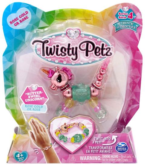 Twisty Petz Series 4 Butter-Swirl Unicorn Bracelet