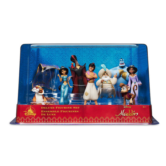 Disney Aladdin Exclusive 9-Piece Deluxe PVC Figure Play Set [Damaged Package]