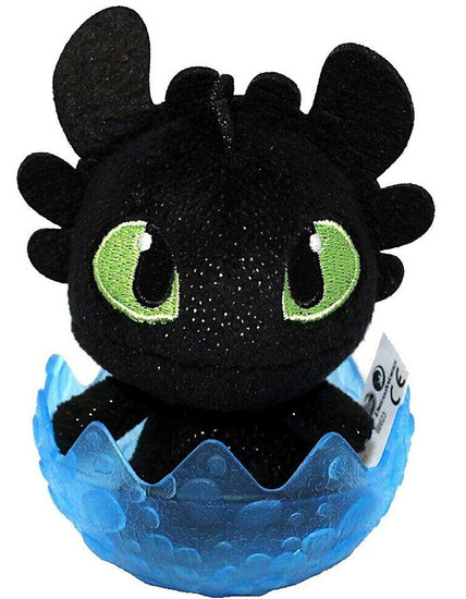 How to Train Your Dragon The Hidden World Toothless 3-Inch Egg Plush [Blue, Version 2]