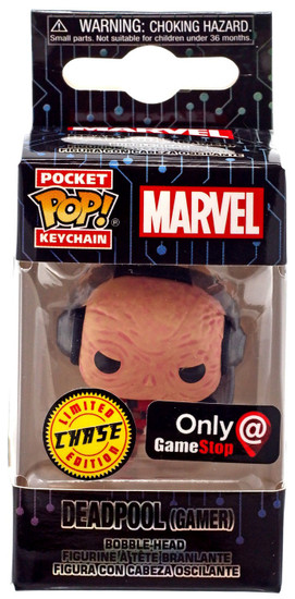 Funko POP! Marvel Deadpool Exclusive Keychain [Gamer, Chase]