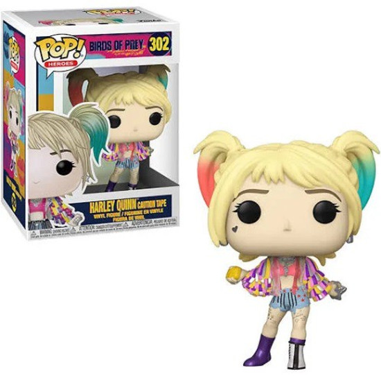 Funko DC Birds of Prey POP! Heroes Harley Quinn Vinyl Figure [Caution Tape]