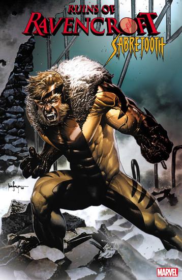Marvel Comics Ruins of Ravencroft #1 Sabertooth Comic Book [Mico Suayan Variant Cover]
