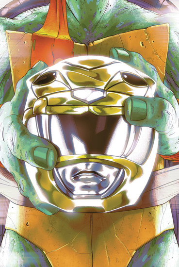 Boom Studios Power Rangers & Teenage Mutant Ninja Turtles #2 Comic Book [Goni Montes Cover D]