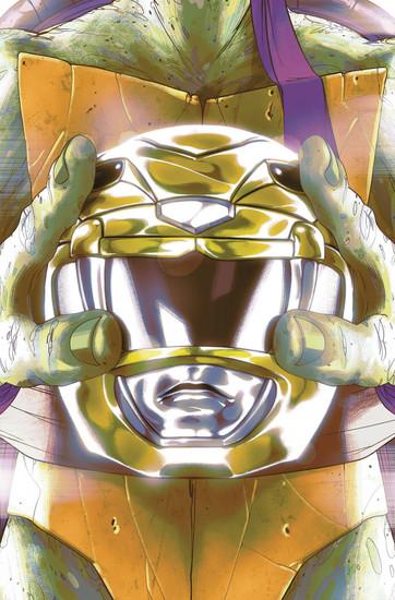 Boom Studios Power Rangers & Teenage Mutant Ninja Turtles #2 Comic Book [Goni Montes Cover E]