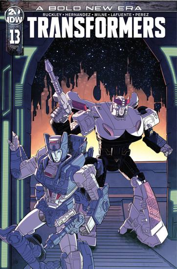IDW Transformers #13 Comic Book [Blacky Shepherd Variant Cover]