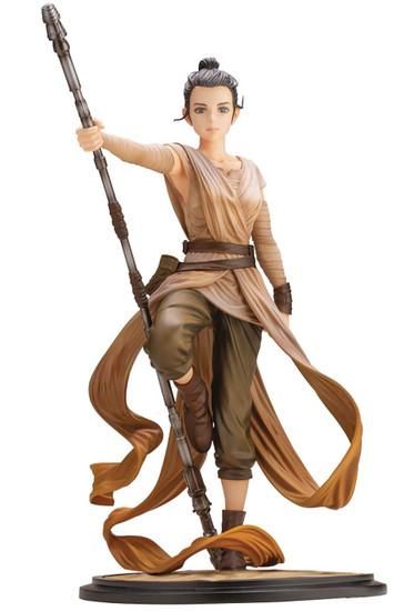 Star Wars ArtFX+ Artist Series Rey 10.6-Inch Multi-Pose Statue [Descendant of Light]