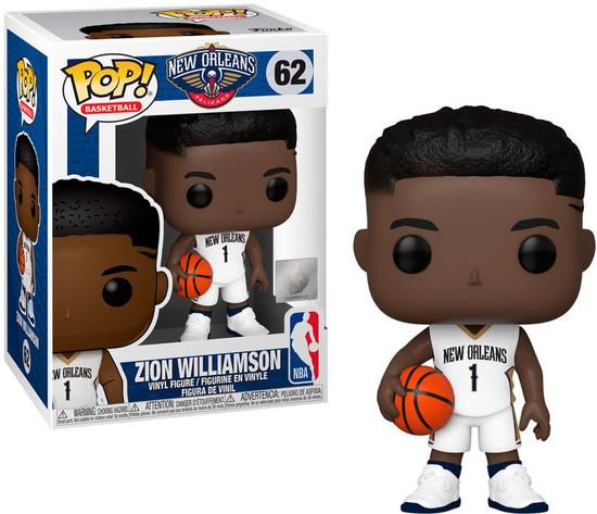 Funko NBA New Orleans Pelicans POP! Sports Basketball Zion Williamson Vinyl Figure #62