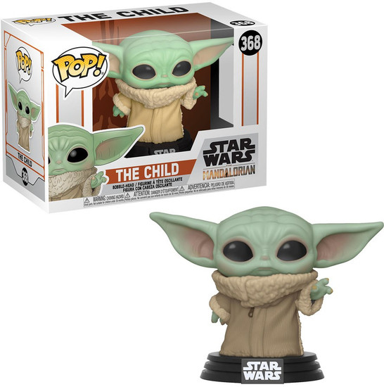 Funko The Mandalorian POP! Star Wars The Child (Baby Yoda) Vinyl Figure #368