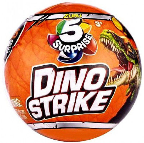 5 Surprise Dino Strike Series 1 Mystery Pack