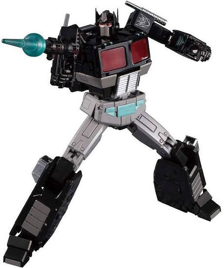 Transformers Masterpiece Series Black Convoy Action Figure MP-49