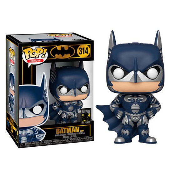 Funko DC Batman & Robin POP! Heroes Batman 80th Batman Vinyl Figure #314 [1997]