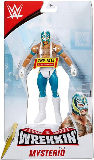 WWE Wrestling Wrekkin' Rey Mysterio Action Figure