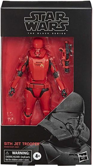Star Wars The Rise of Skywalker Black Series Sith Jet Trooper Action Figure