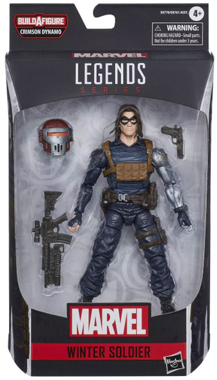 Marvel Legends Crimson Dynamo Series Winter Soldier Action Figure [Comic Version]