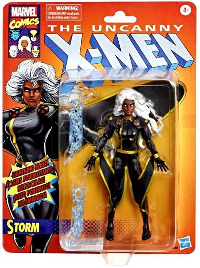 The Uncanny X-Men Marvel Legends Vintage (Retro) Series Storm Action Figure [Black Costume]