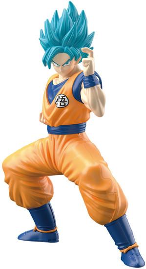 Dragon Ball Bandai Spirits SSGSS Son Goku 6-Inch Entry Grade Model Kit
