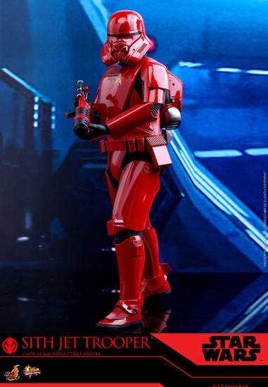 Star Wars The Rise of Skywalker Movie Masterpiece Sith Jet Trooper Collectible Figure MMS562