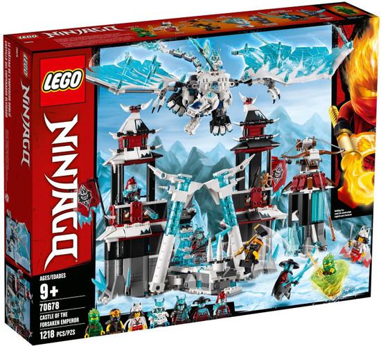 LEGO Ninjago Castle of the Forsaken Emperor Set #70678