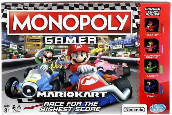 Monopoly MarioKart Gamer Edition Board Game
