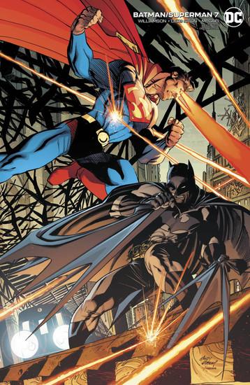 DC Batman Superman #7 Comic Book [Andy Kubert Variant Cover]