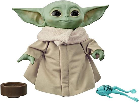 Star Wars The Mandalorian The Child (Baby Yoda) 7.5-Inch Talking Plush