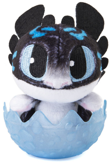 How to Train Your Dragon The Hidden World Baby Fury 3-Inch Egg Plush