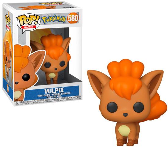 Funko Pokemon POP! Games Vulpix Vinyl Figure #580
