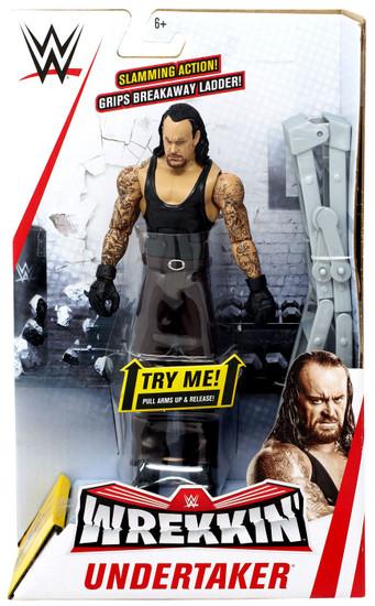 WWE Wrestling Wrekkin' Undertaker Action Figure [Damaged Package]