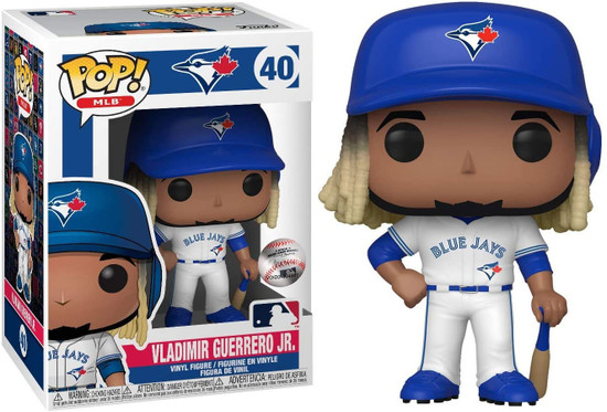 Funko MLB Toronto Blue Jays POP! Sports Baseball Vladimir Guerrero Jr. Vinyl Figure