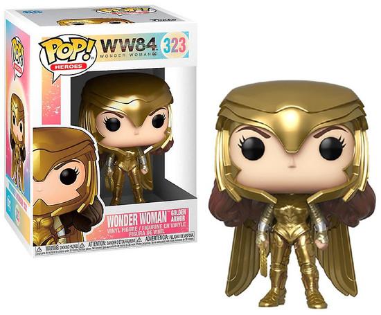 Funko DC Wonder Woman 1984 POP! Movies Wonder Woman Gold Power Vinyl Figure [Metallic]