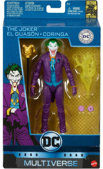 DC Multiverse Batman 80 Years Series Joker Action Figure