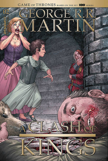 Dynamite Entertainment George R. R. Martin: A Clash of Kings #2 Comic Book