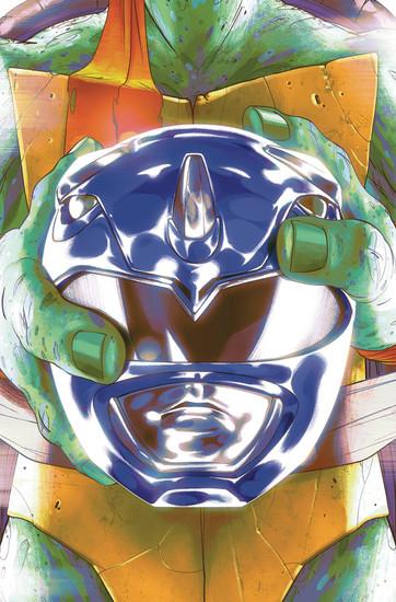 Boom Studios Power Rangers & Teenage Mutant Ninja Turtles #3 Comic Book [Goni Montes Cover D]