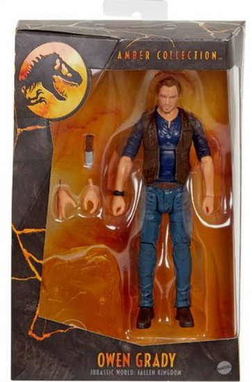 Jurassic World Amber Collection Owen Grady Action Figure