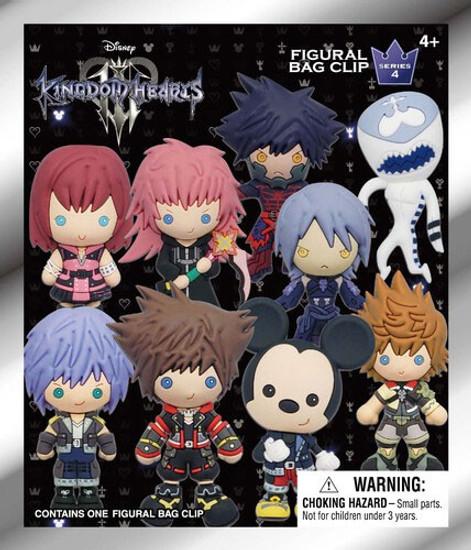 Disney 3D Figural Keyring Kingdom Hearts Series 4 Mystery Pack [1 Figure]