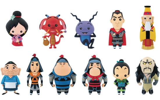 Disney 3D Figural Keyring Mulan Series 1 Mystery Pack [1 Figure] (Pre-Order ships May)