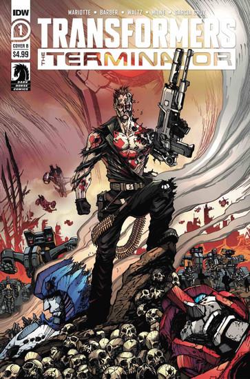 IDW Transformers Vs. Terminator #1 of 4 Comic Book [Alex Milne Cover B]