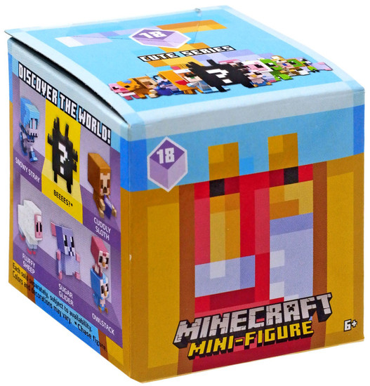 Minecraft Cute Series 18 Mystery Pack [1 RANDOM Figure]