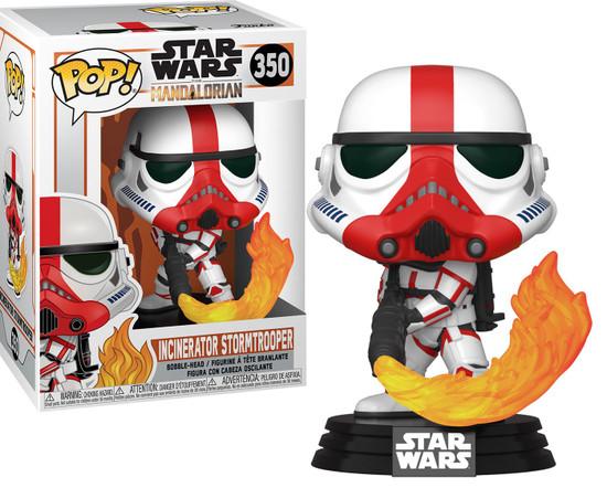Funko The Mandalorian POP! Star Wars Incinerator Stormtrooper Vinyl Figure #350